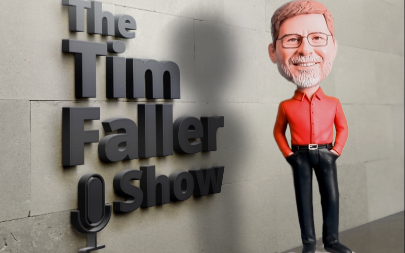 The Tim Faller Show Bobble Head